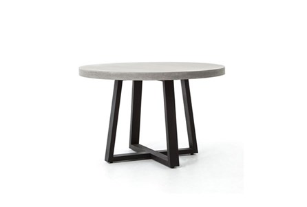 Parson 48 Inch Round Dining Table