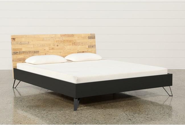 Matix California King Platform Bed 360
