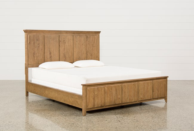 Mallory Eastern King Panel Bed - 360