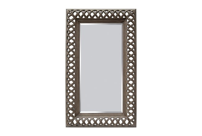 Mirror-Brushed Lattice 32X68 - 360