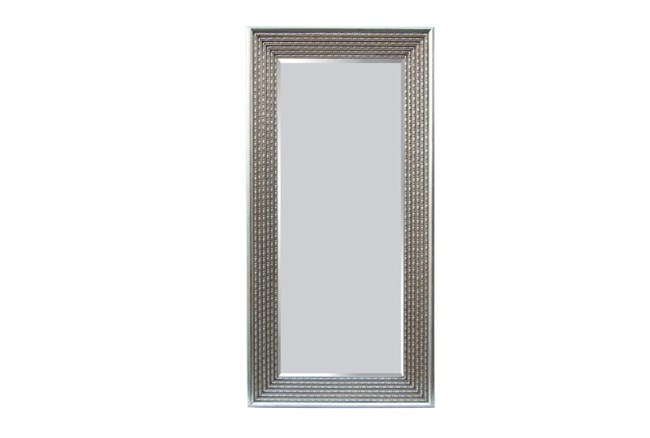 Leaner Mirror-Silver Bead 38X74 - 360