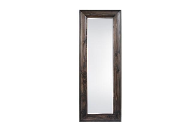 Leaner Mirror-Walnut Wood Finish 36X90 - 360