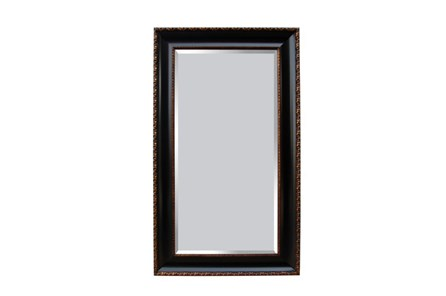 Leaner Mirror-Black Antique Gold 45X75