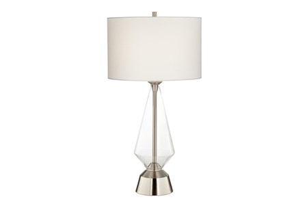 Table Lamp-Zondra Nickel