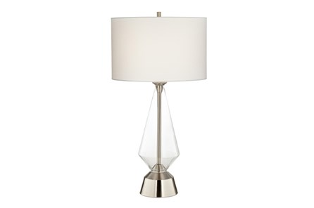 Table Lamp-Zondra Nickel - Main
