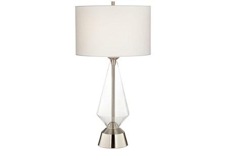Table Lamp-Zondra Nickel - Main