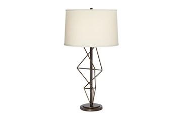 Table Lamp-Geometric Twist