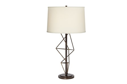 Table Lamp-Geometric Twist
