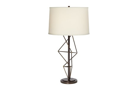 Table Lamp-Geometric Twist - Main