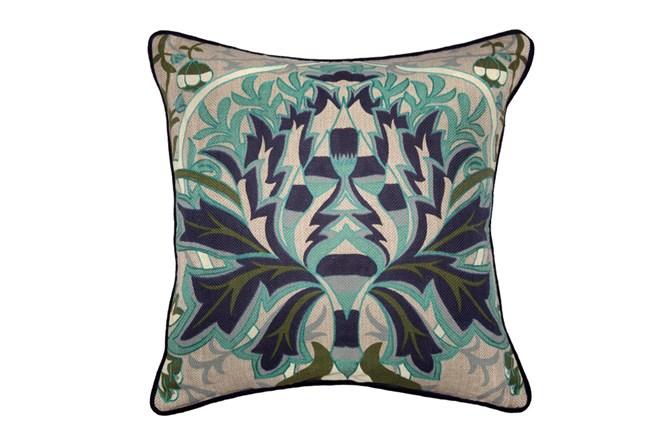 Accent Pillow-Martha Lotus Indigo 22X22 - 360