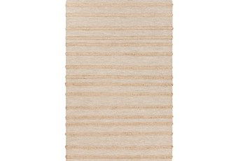 60X96 Rug-Nia Jute Stripe Gold