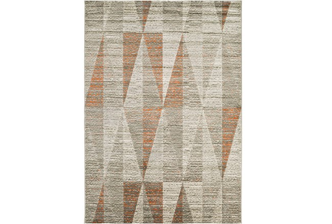 26X36 Rug-Hiru Grey/Orange - 360