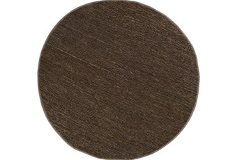 8' Round Rug-Delon Olive