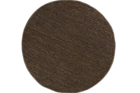 96 Inch Round Rug-Delon Olive