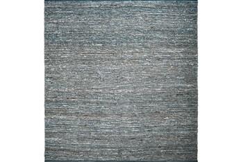 8'x8' Square Rug-Delon Grey