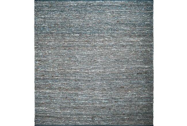 96X96 Square Rug-Delon Grey - 360
