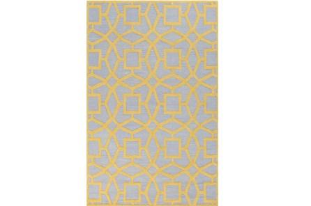 108X156 Rug-Sueno Slate/Gold