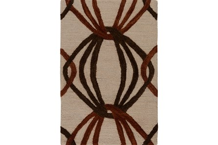 24X36 Rug-Rever Rust/Chocolate