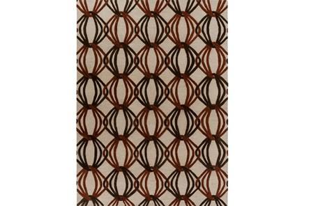 108X156 Rug-Rever Rust/Chocolate