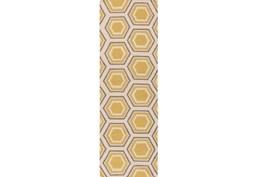 30X96 Rug-Shell Gold/Grey