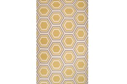 42X66 Rug-Shell Gold/Grey