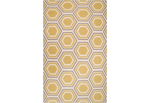 42X66 Rug-Shell Gold/Grey - 360