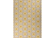 96X132 Rug-Shell Gold/Grey