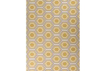 96X132 Rug-Shell Gold/Grey