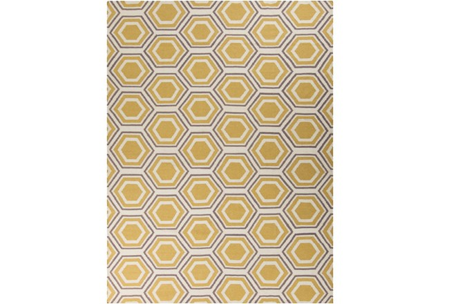 96X132 Rug-Shell Gold/Grey - 360