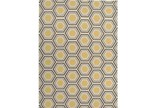 96X132 Rug-Shell Gold/Chocolate - Signature