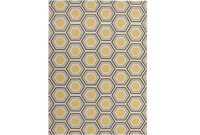 96X132 Rug-Shell Gold/Chocolate - 360