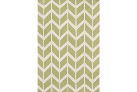 42X66 Rug-Azibo Green Chevron