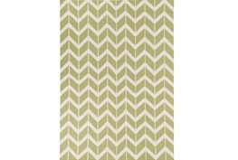 96X132 Rug-Azibo Green Chevron