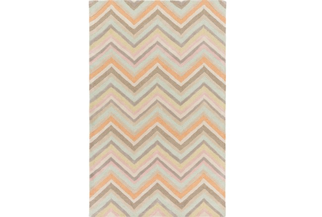 24X36 Rug-Kimell Grey/Orange - 360