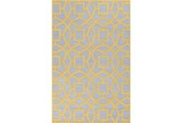 60X96 Rug-Sueno Slate/Gold