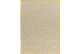 96X132 Rug-Sueno Slate/Gold