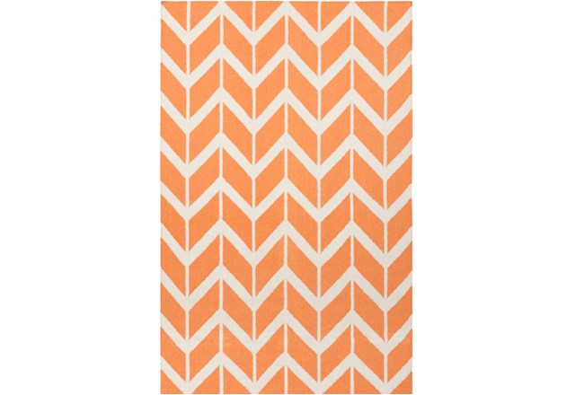 24X36 Rug-Azibo Orange Chevron - 360