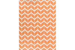 96X132 Rug-Azibo Orange Chevron