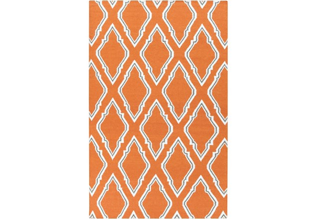 24X36 Rug-Daniel Orange - 360