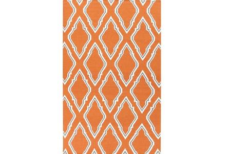 60X96 Rug-Daniel Orange