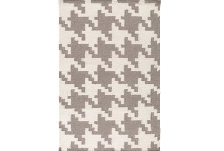 24X36 Rug-Diente Taupe/Ivory