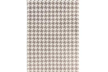 96X132 Rug-Diente Taupe/Ivory