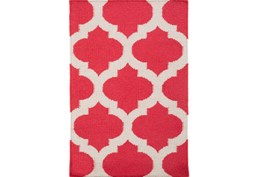 24X36 Rug-Tron Cherry/White