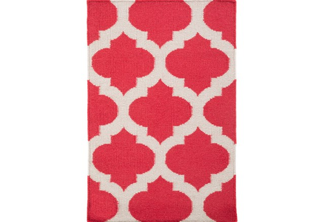 24X36 Rug-Tron Cherry/White - 360