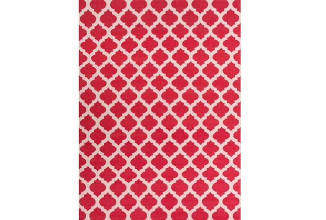 108X156 Rug-Tron Cherry/White - 360