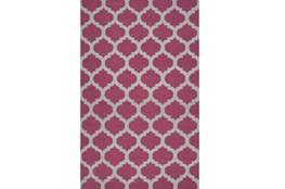 60X96 Rug-Tron Violet/Grey