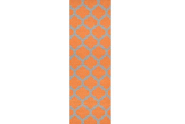 30X96 Rug-Tron Tangerine/Grey - 360