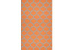 60X96 Rug-Tron Tangerine/Grey