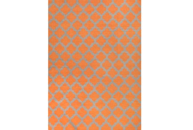 108X156 Rug-Tron Tangerine/Grey - 360