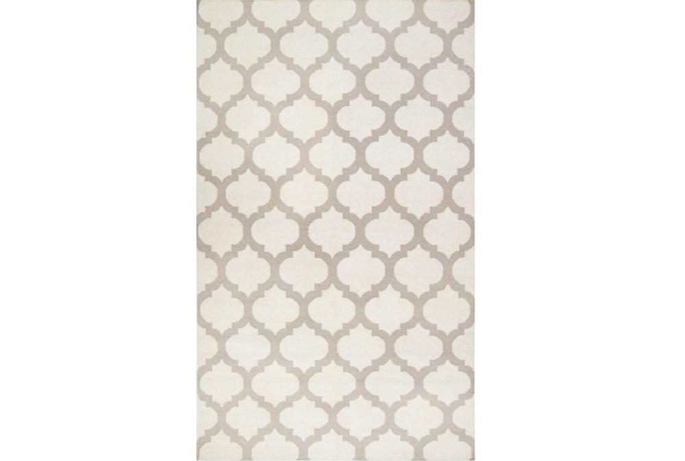 60X96 Rug-Tron Ivory/Grey